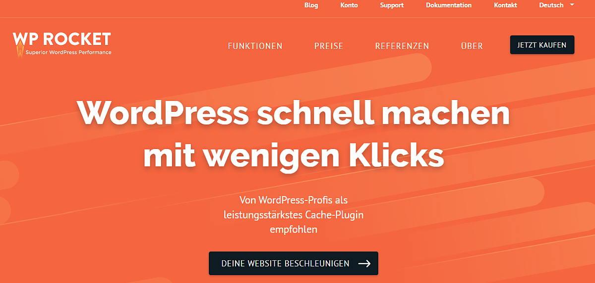 WP_Rocket_WordPress_schnell_machen_mit_wenigen_Klicks